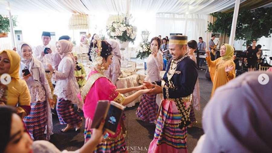 Melihat Kebahagiaan Tistha Nurma Jadi Istri Afif Kalla