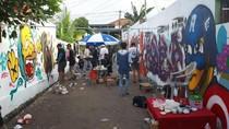 Cantiknya Kampung Warna-Warni dan Kolaborasi Seni Grafity Palembang