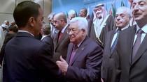 Momen Jokowi Sapa Presiden Palestina di Sela KTT Luar Biasa OKI