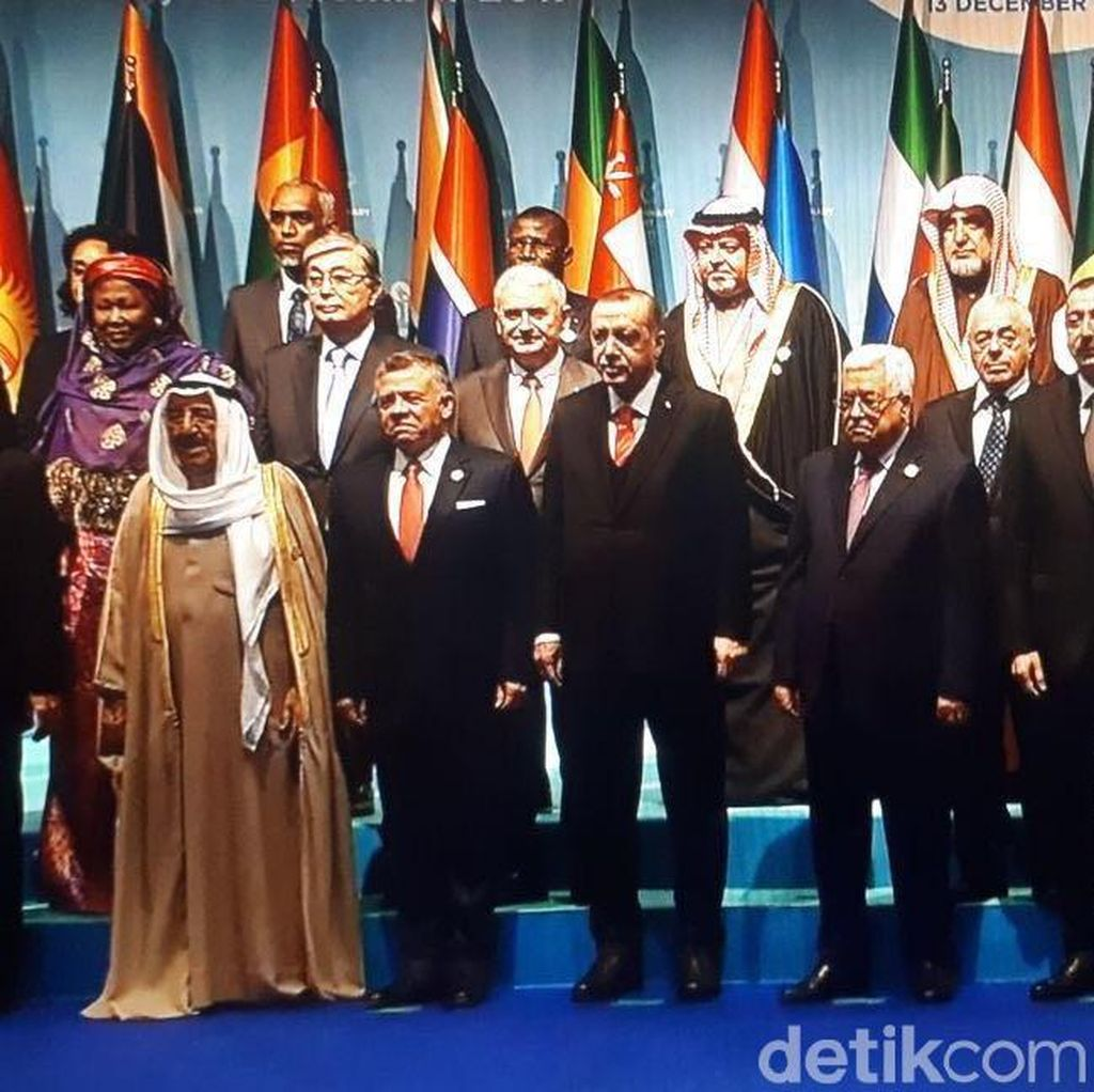 Jokowi Hadiri KTT Luar Biasa OKI Bahas Palestina
