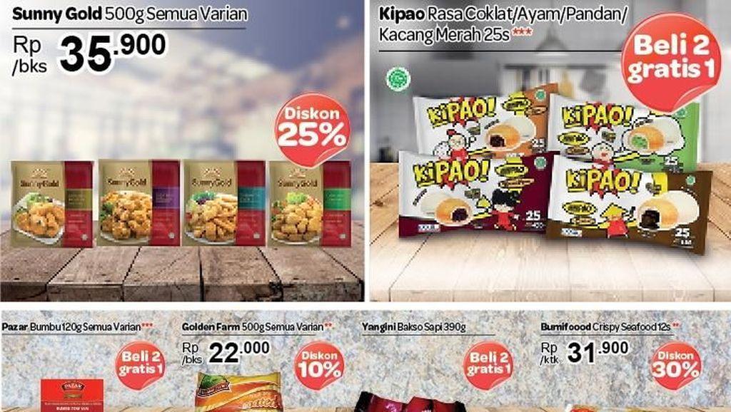 Beli 2 Gratis 1 & Diskon Frozen Food di Transmart Carrefour