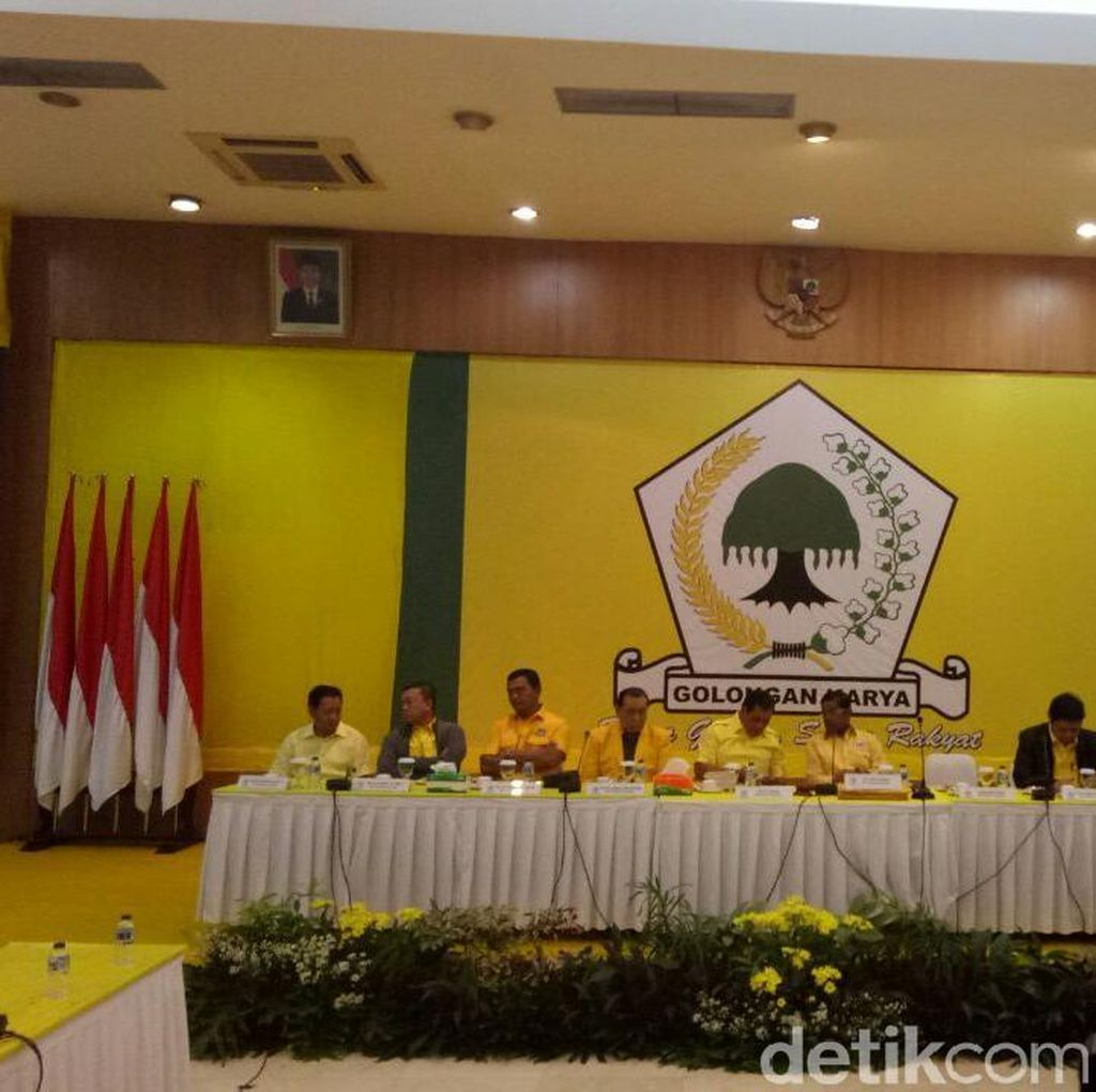 Golkar Gelar Rapimnas dan Munaslub yang Akan Dihadiri Jokowi