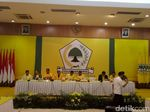 Jelang Pengumuman Pengurus, Elite Golkar Merapat ke Kantor DPP