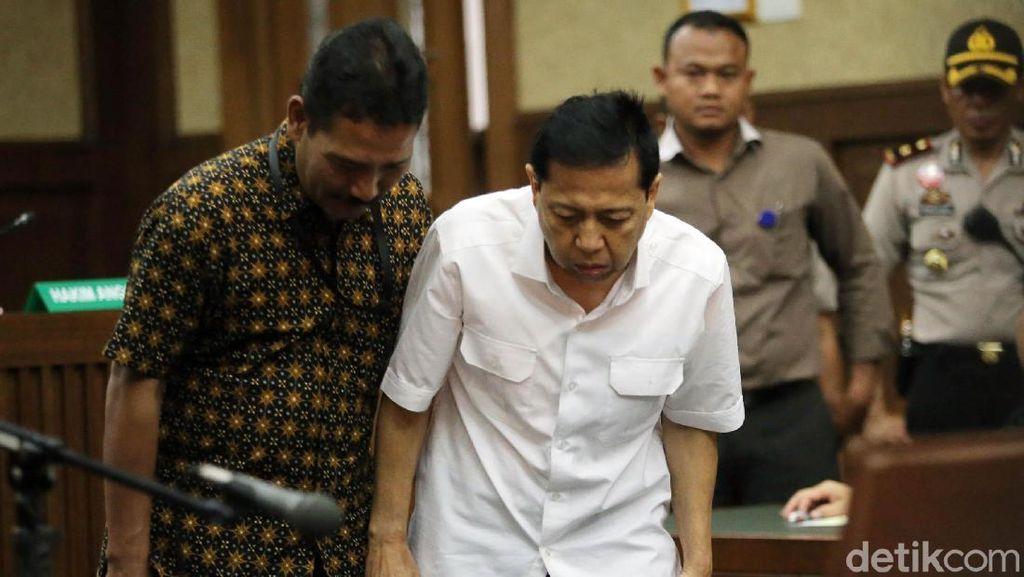 Media Asing Soroti Sidang Perdana Setya Novanto dan Keluhan Diare