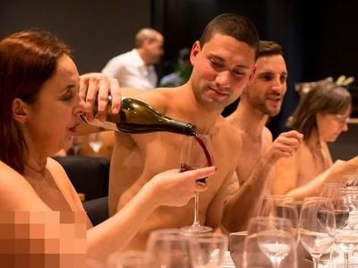 Dunia Sudah Gila! Ada Restoran Telanjang di Prancis
