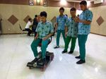 Robot Buatan Siswa SMA Sidoarjo Ini Sabet Juara di Bangladesh