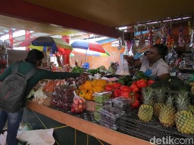Foto: Blusukan ke Pasar Afrika di Seychelles