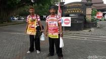 Hendak Jalan Kaki Ponorogo-Jakarta, 2 Orang Ini Serukan Antikorupsi