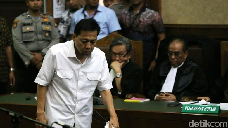 Novanto Ngaku Sakit Saat Sidang, KPK: Itu Bisa Perberat Tuntutan