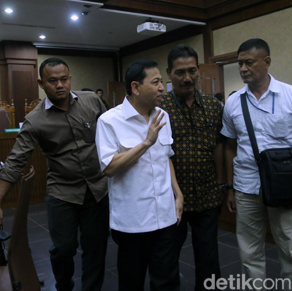 Keberatan dengan Dakwaan, Novanto Ajukan Eksepsi