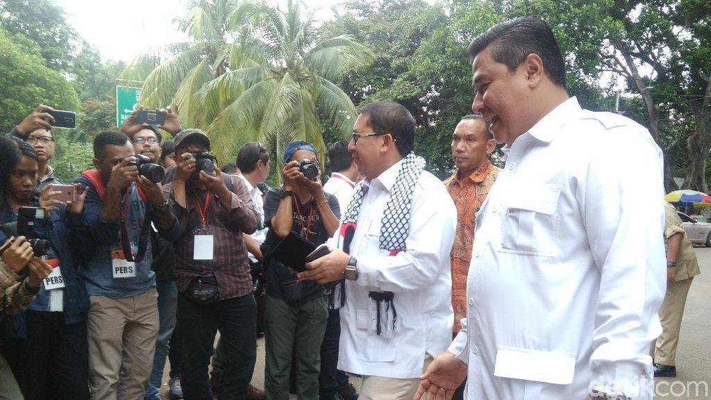 Fadli Zon dan Ahmad Dhani Datangi Deklarasi Cagub Jateng Gerindra