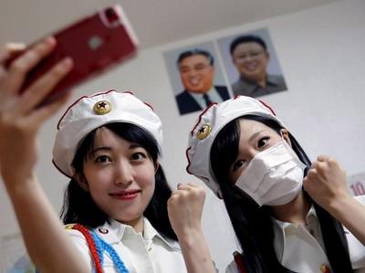Foto: Korea Utara Fans Club, Isinya Gadis-Gadis Cantik Jepang