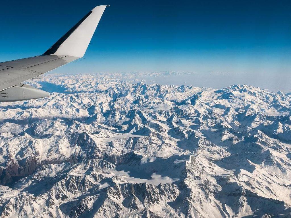 Foto: 12 Rute Penerbangan Paling Cantik Sedunia