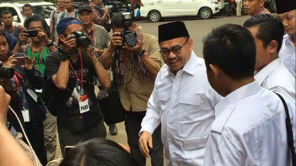 Gerindra Bela Sudirman Said Meski Tak Pilih Prabowo