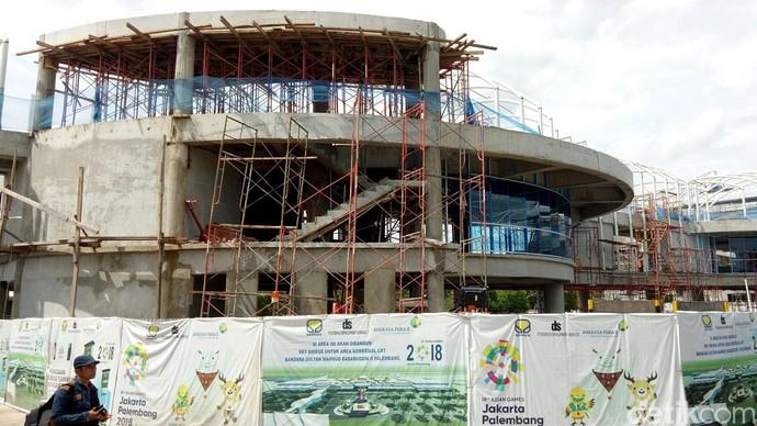 Ini Lho Proyek Skybridge, Penghubung Bandara dan LRT Palembang