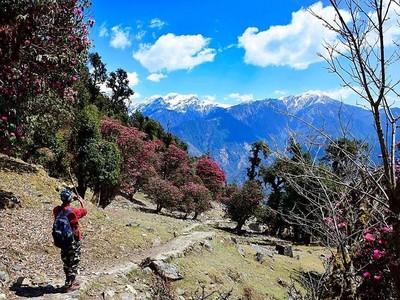 Foto: Rasanya Hidup di Desa Terpencil Himalaya