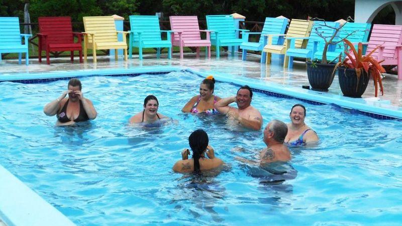 Foto: The Resort, resort ini berada di Pulau Eleuthera, Bahama. (CNN Travel)