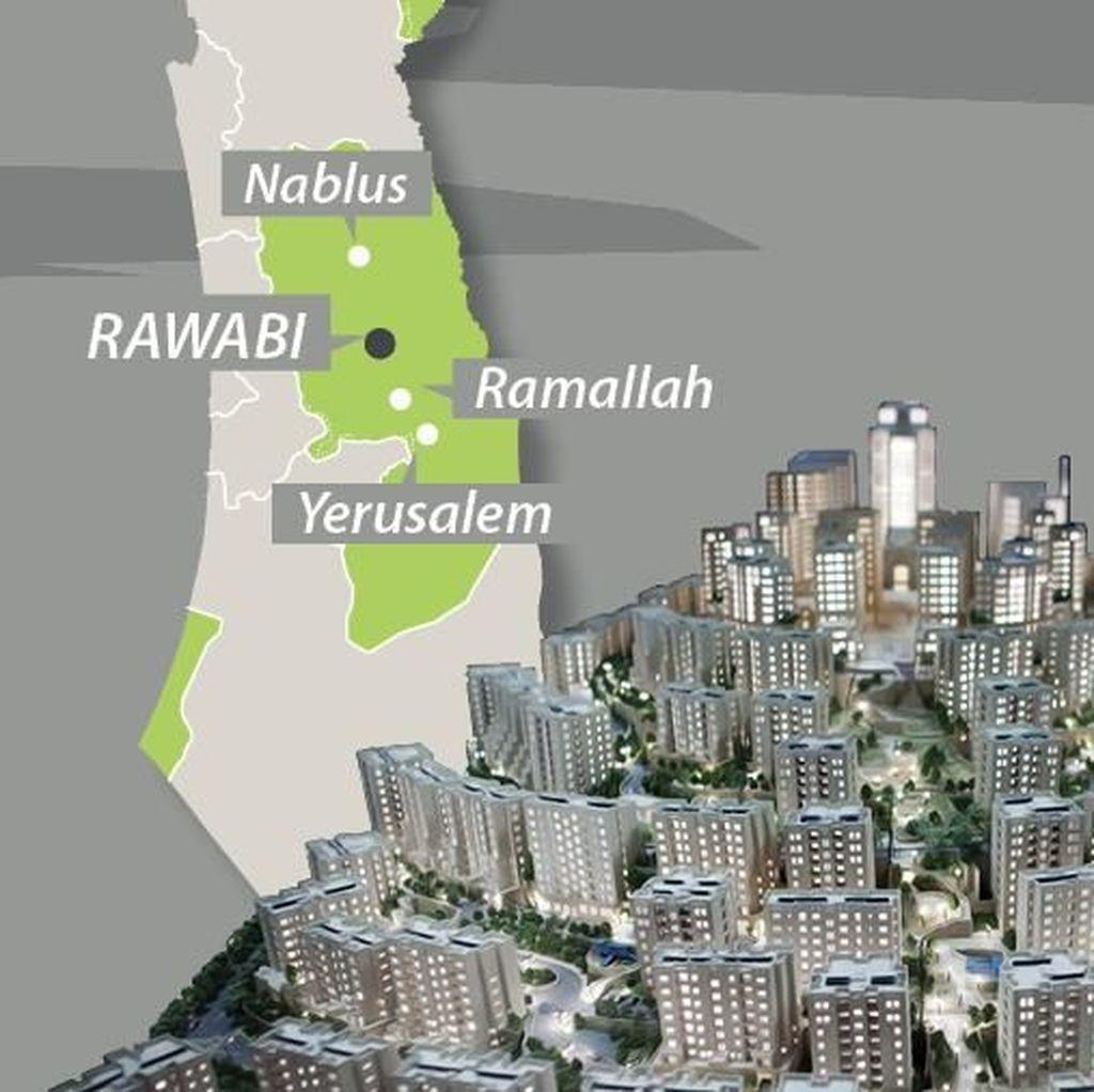 Ini Rawabi, Metropolitan Pertama di Palestina