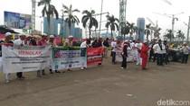 Tolak DWP, Massa Selawatan di JIExpo