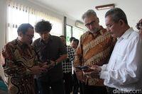 Peluncuran aplikasi Chattra Borobudur E-Guide (Pertiwi/detikTravel)