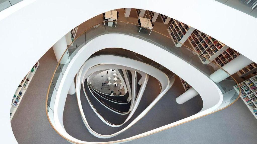 Foto: 8 Perpustakaan Paling Megah di Dunia