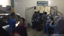 Rumah Sakit Kurnia di Kota Cilegon Kebakaran, Pasien Dievakuasi