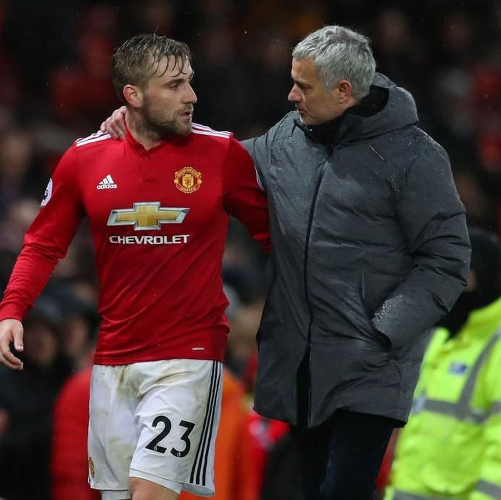 Shaw dan Mourinho Tak Mungkin Lagi Bersatu