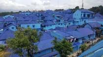 Menengok Kampung Biru, Destinasi Wisata Baru di Malang