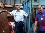 Anies Perintahkan Geser Beton Separator Proyek LRT Penyebab Banjir
