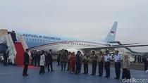 Jokowi Tiba di Jakarta Usai Hadiri KTT OKI di Turki