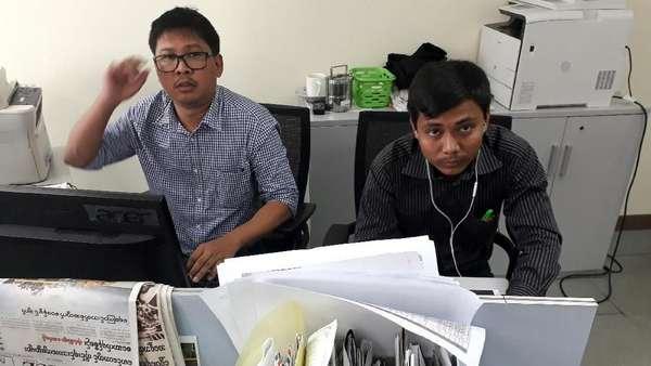 Beritakan Operasi Militer Myanmar, 2 Wartawan Media Asing Ditahan