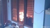 Tabung Gas Elpiji Bocor, Rumah Warga di Purworejo Terbakar