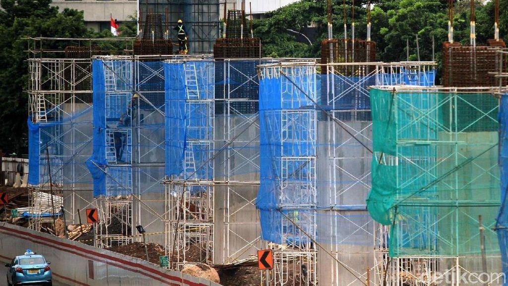 Melihat Perkembangan Proyek LRT di Rasuna Said