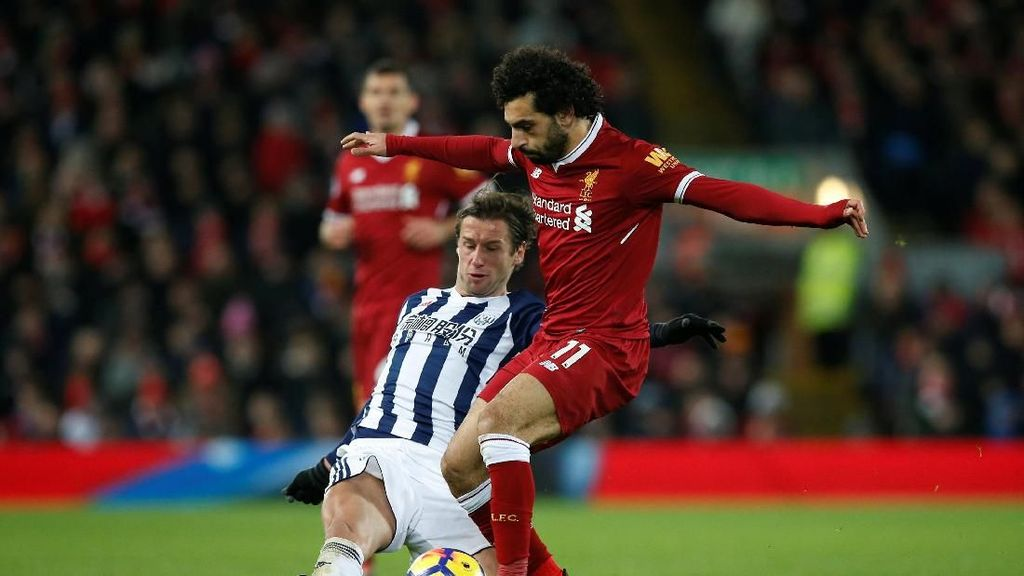 Liverpool Ditahan Imbang West Brom