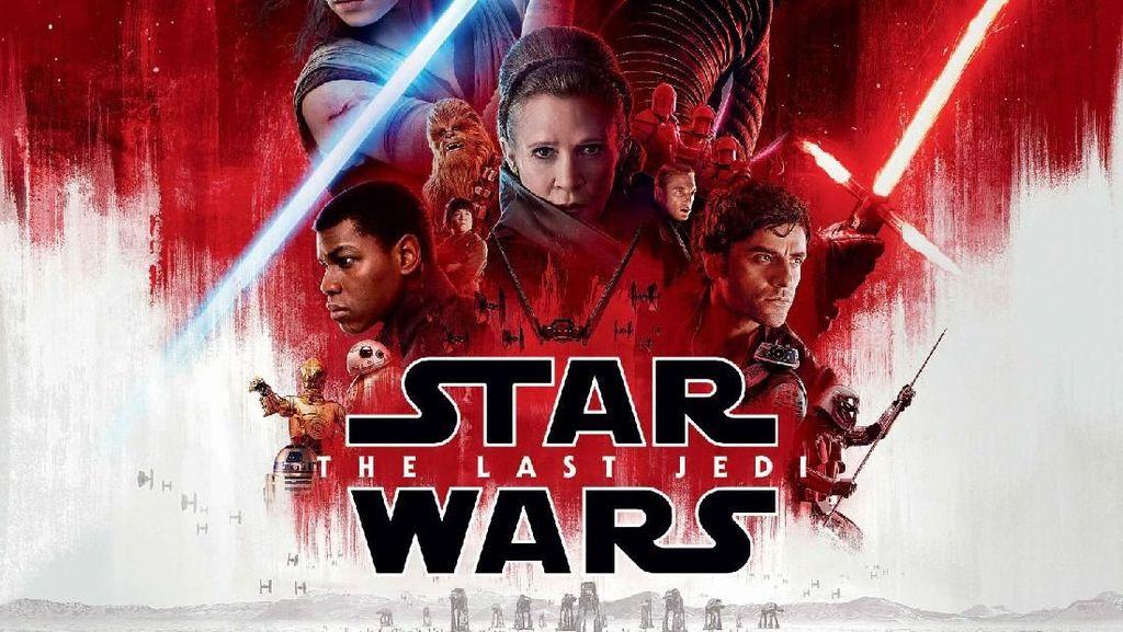 Nana Mirdad-Andrew White Nonton Star Wars: The Last Jedi di LA