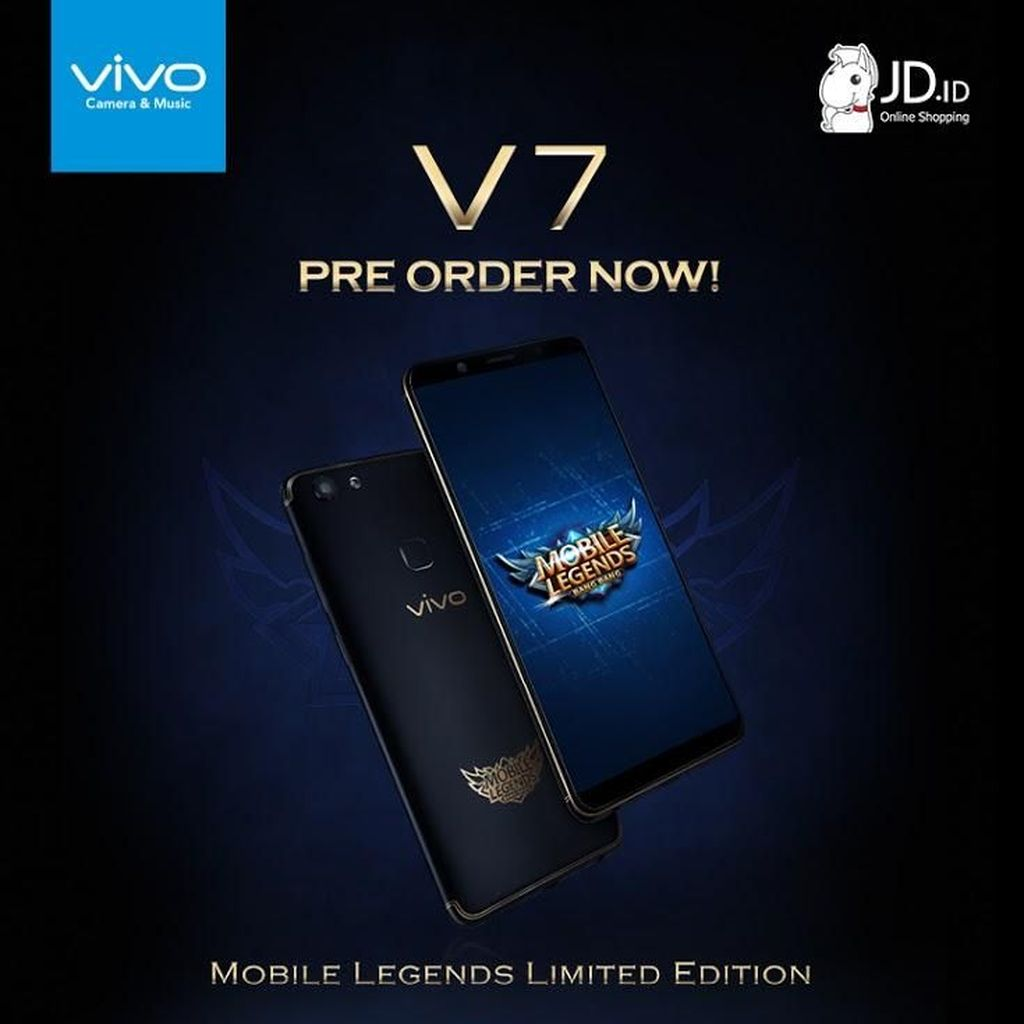 738 Sensasi Main Mobile Legends di Vivo V7 Mobile Legends Limited Edition