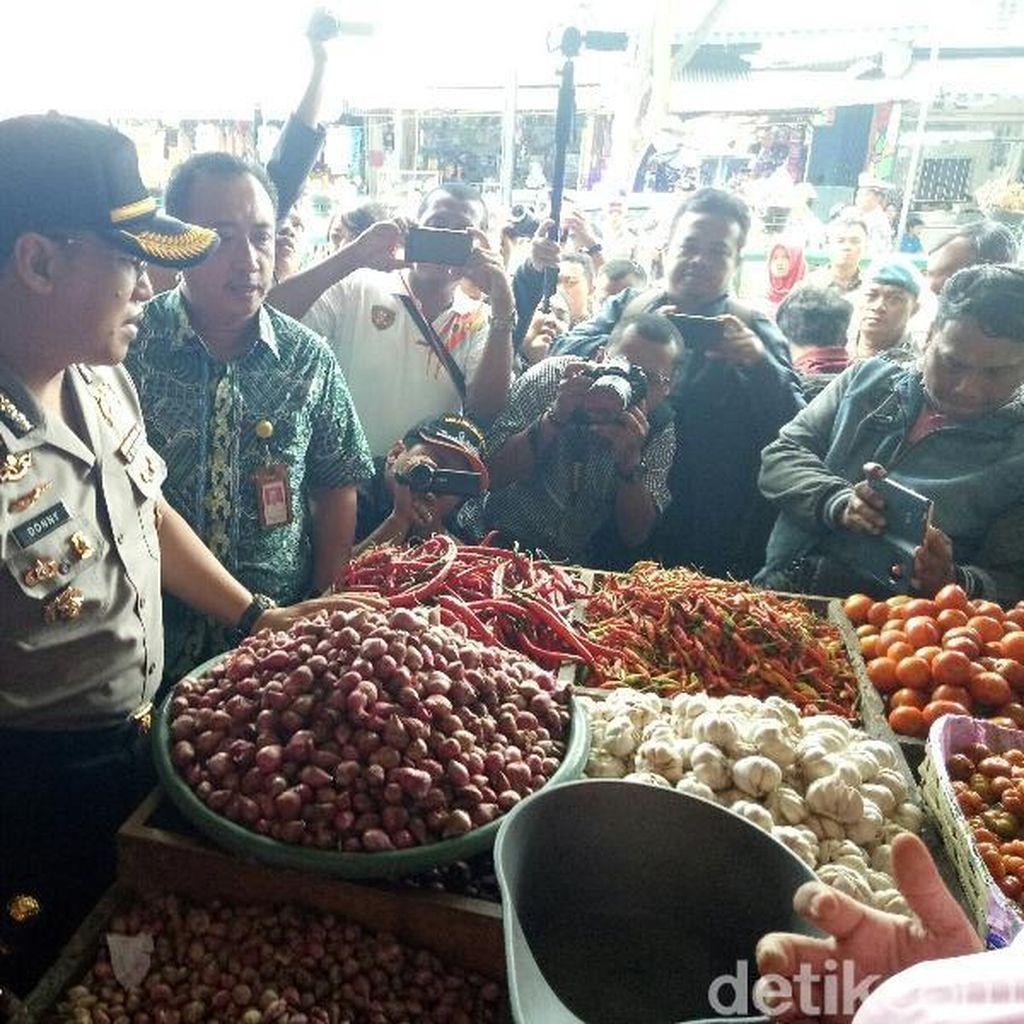 Polisi di Banyuwangi Antisipasi Harga Sembako Naik Saat Tahun Baru