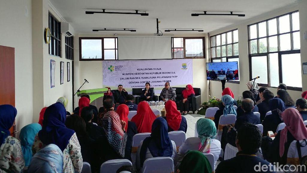 Menkes Puji Pelayan Puskesmas Garuda Bandung