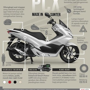Honda PCX Made In Sunter