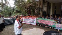 Dirut PTPN IX yang Baru Disambut Demo Karyawan di Semarang