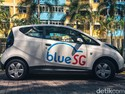 Jajal Mobil Listrik di Singapura, Tarifnya 3.000 Perak/Menit