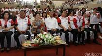 Megawati Soekarnoputri Hadiri Aksi Bela Negara