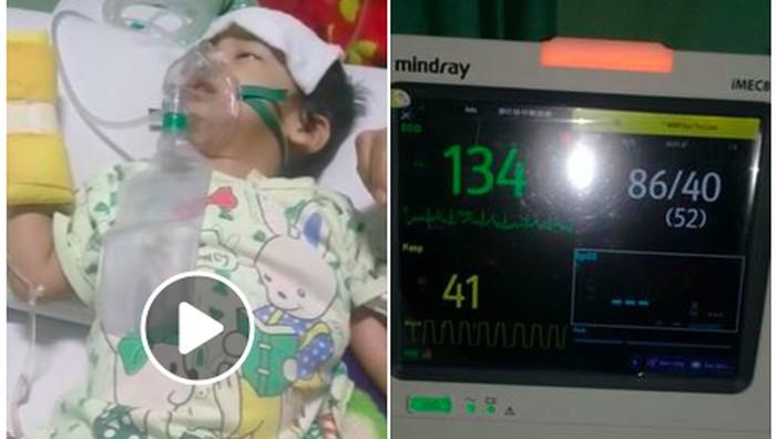 Video Nayla yang sempat viral di media sosial tak hanya menarik simpati, namun juga melahirkan tuduhan hoax. Apa kata sang ibu? Foto: Viral