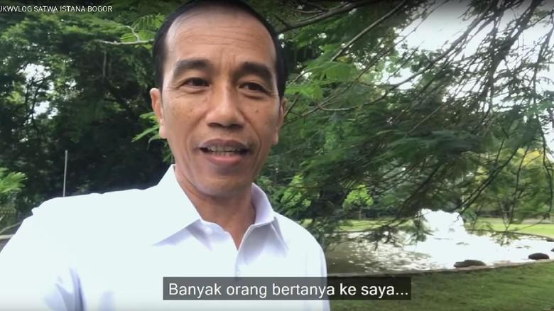 Foto: (Presiden Joko Widodo/Youtube)