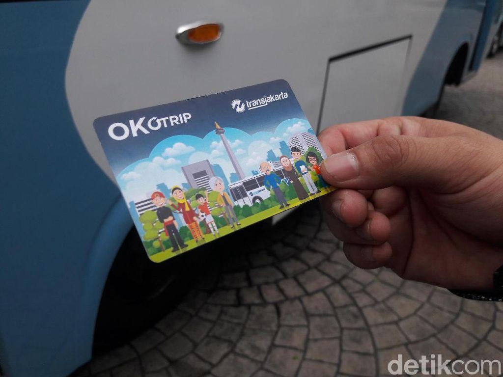 Anies Luncurkan Kartu OK Otrip, Bisa buat Bayar Angkot!