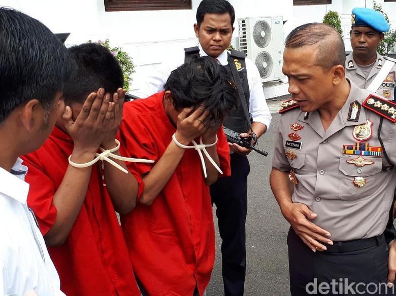 Dua Jambret yang Tewaskan Korbannya Dibekuk Tim Anti Bandit