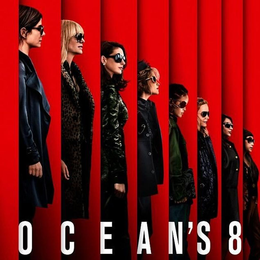 Poster Perdana Oceans 8 Menampilkan Para Pencuri Cantik