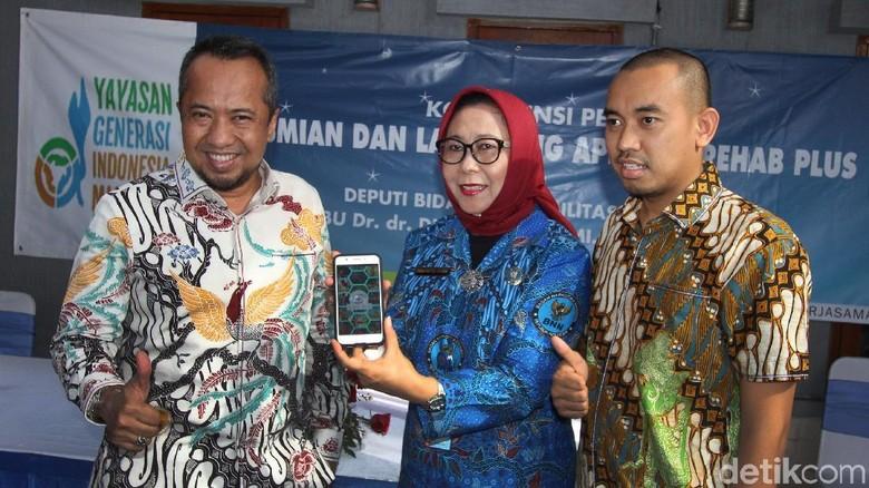 BNN Luncurkan Aplikasi untuk Pecandu Narkoba