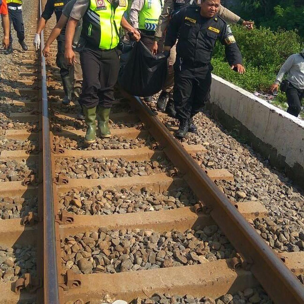 Nekat Menyeberang, Seorang Pembantu Tewas Tertabrak Kereta