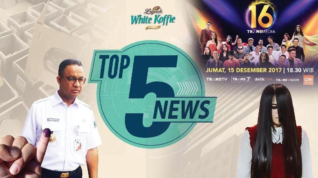 Anies Cabut Raperda Reklamasi, Riana Menang Asias Got Talent 2017